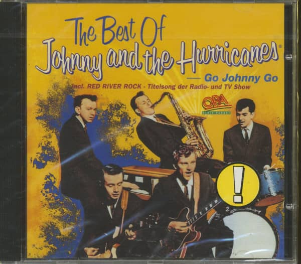 The Best Of Johnny And The Hurricanes - Go Johnny Go (CD)