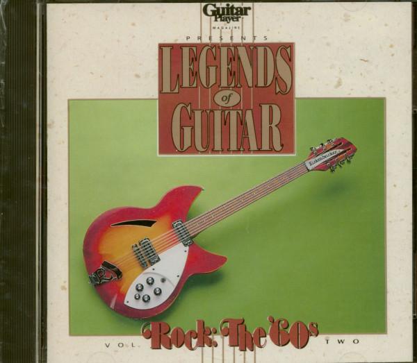 60s, Legends Of Rock & Guitar Vol.2 (CD)