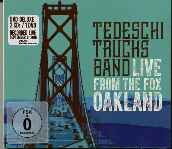 Live From The Fox Oakland 2016 (2-CD, 1-DVD)