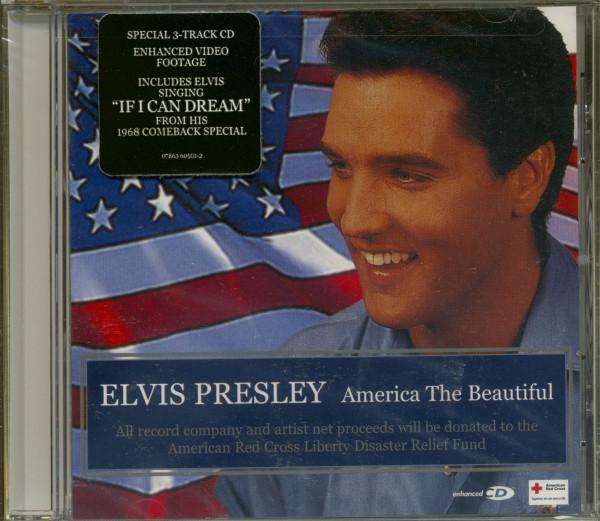 America The Beautiful - Maxi CD enhanced (US)