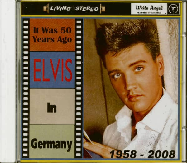 It Was 50 Years Ago - Elvis In Germany (CD)