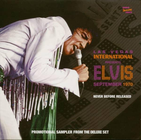 Las Vegas International Presents Elvis September 1970 (CD-Promo)