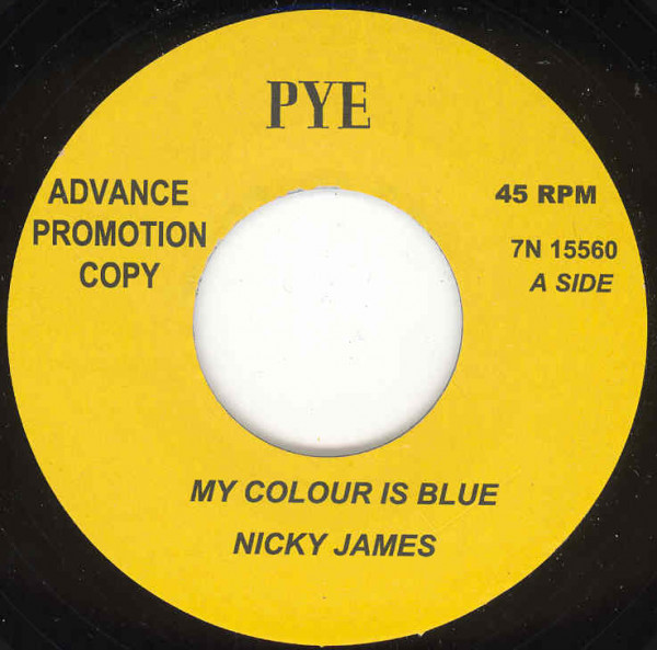 My Colour Is Blue - Baby I'm In Love 7inch, 45rpm