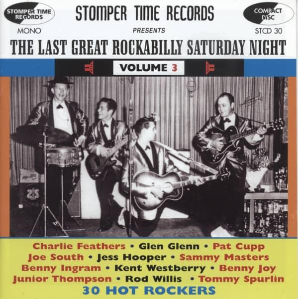 The Last Great Rockabilly Saturday Night Vol.3
