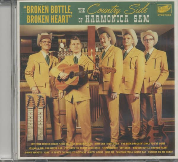 Broken Bottle, Broken Heart (CD)