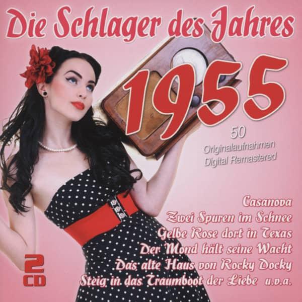 Die Schlager des Jahres 1955 (2-CD)