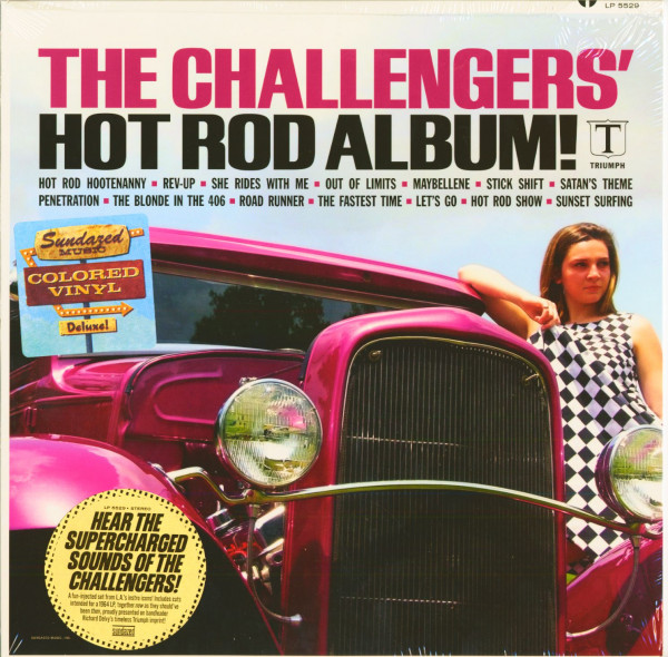 Hot Rod Album (LP, Ltd.)