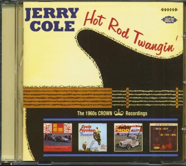 Hot Rod Twangin' - The 1960s Crown Recordings Vol.1 (CD)