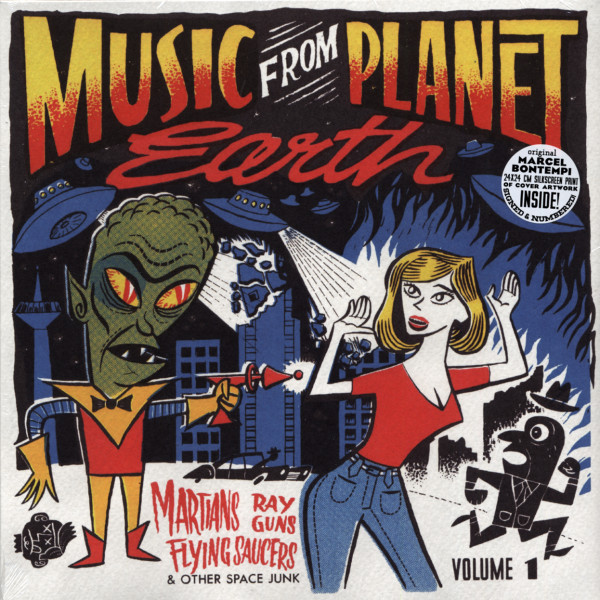 Music From Planet Earth Vol.1 - 25cm LP