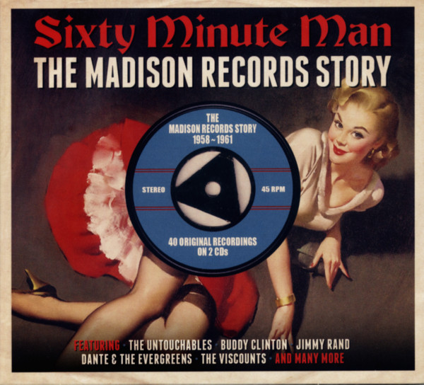 Sixty Minute Man - The Madison Records Story (2-CD)