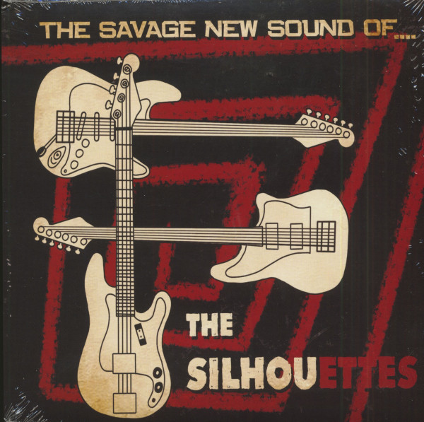 The Savage New Sound Of The Silhouettes (7inch, 45rpm, EP, PS)