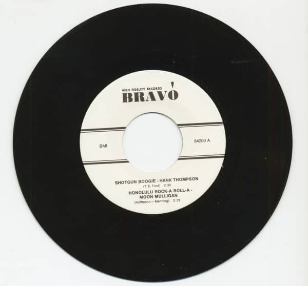 Shotgun Boogie - Honolulu Rock-A Roll-A (7inch, EP, 45rpm)
