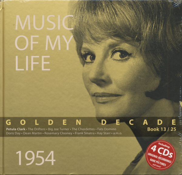 Golden Decade Vol.13 - 1954 (Book & 4-CD)