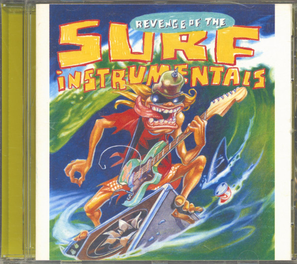 Revenge Of The Surf Instrumentals (CD)