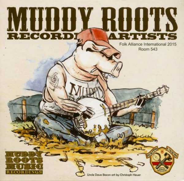 Muddy Roots Recording Artists - Sampler (CD)