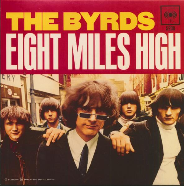 Eight Miles High (7 inch, Orange Vinyl, 45rpm, PS)