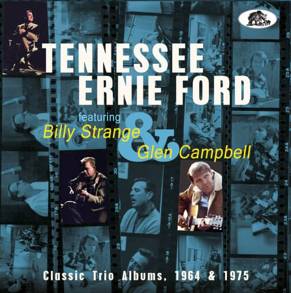 Classic Trio Albums, 1964 &ampamp; 1975 featuring Billy Strange and Glen Campbell (CD)