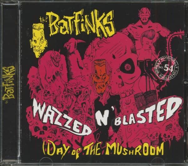 Wazzed'n'Blasted (CD)