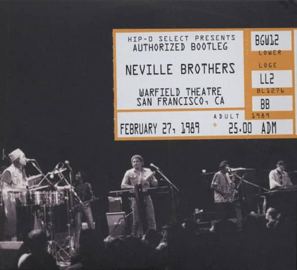 Authorized Bootleg: Warfield Theatre (2-CD)