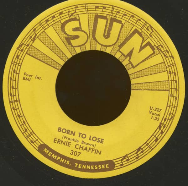 Born To Lose - My Love For You (7inch, 45rpm)