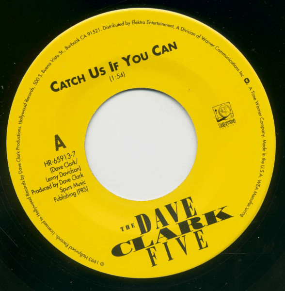 Catch Us If You Can - Try Too Hard (7inch Single, BC)
