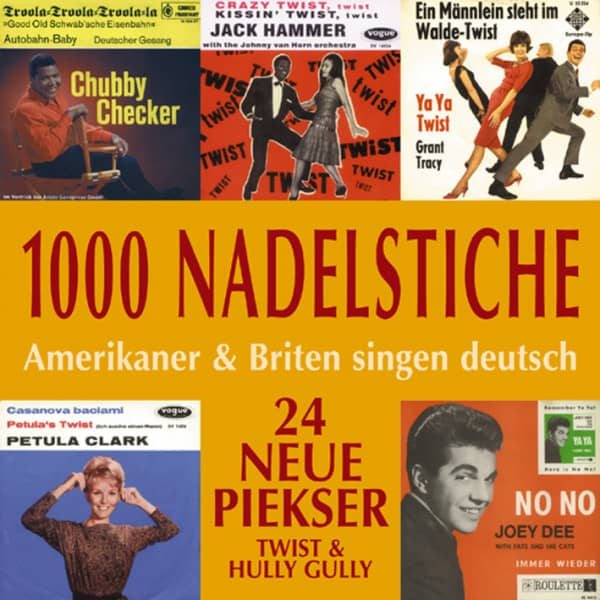 Vol.03, Twist & Hully Gully - Amerikaner & Briten singen deutsch