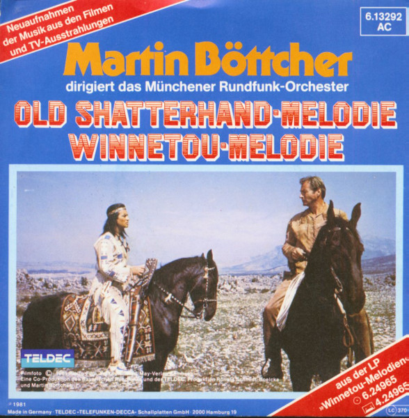Old Shatterhand-Melodie - Winnetou-Melodie (7inch, 45rpm, PS)