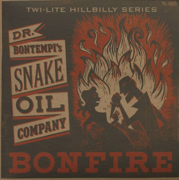 Bonfire - Country Cousin (7inch, 45rpm, PS, BC, Ltd.)