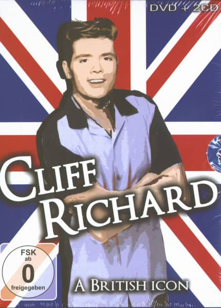 Cliff Richard - A British Icon (DVD & 2-CD Box)