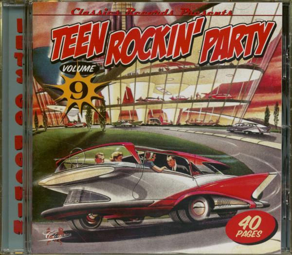 Teen Rockin' Party Vol.9 (CD)