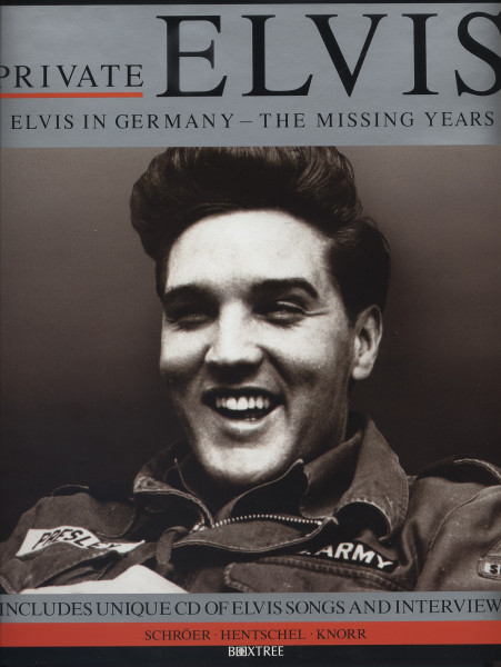 Private Elvis - Elvis In Germany - The Missing Years (Book & CD)