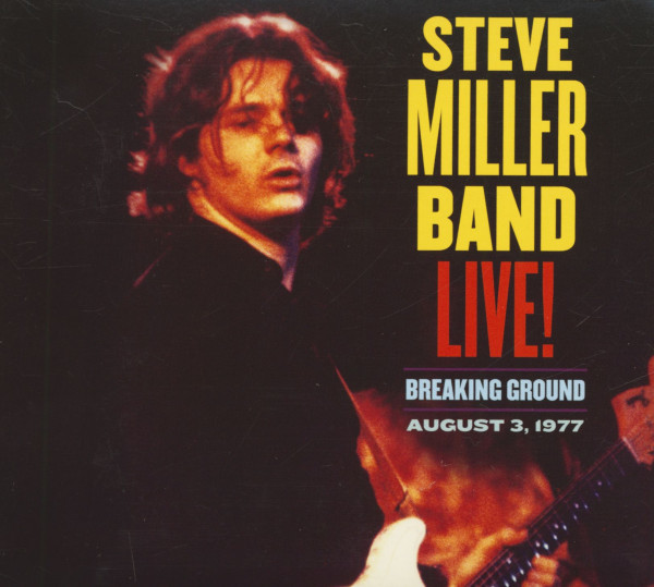 Live! Breaking Ground - August 3, 1977 (CD)