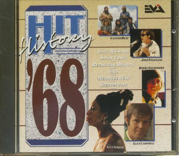 Hit History - 1968 (CD)