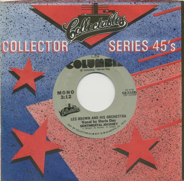 Sentimental Journey, Vocals Doris Day - I've Got My Love To Keep Me Warm (7inch, 45rpm, BC, CS)