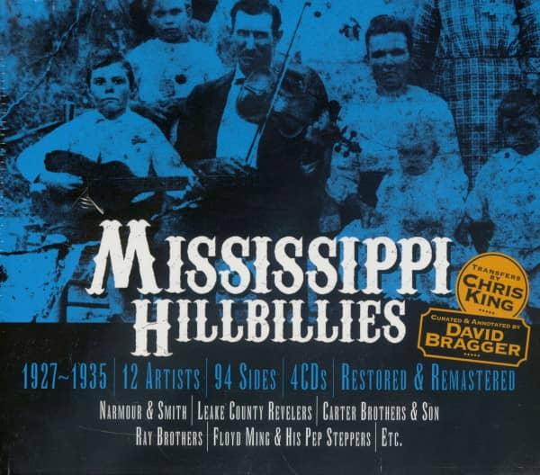 Mississippi Hillbillies (4-CD)