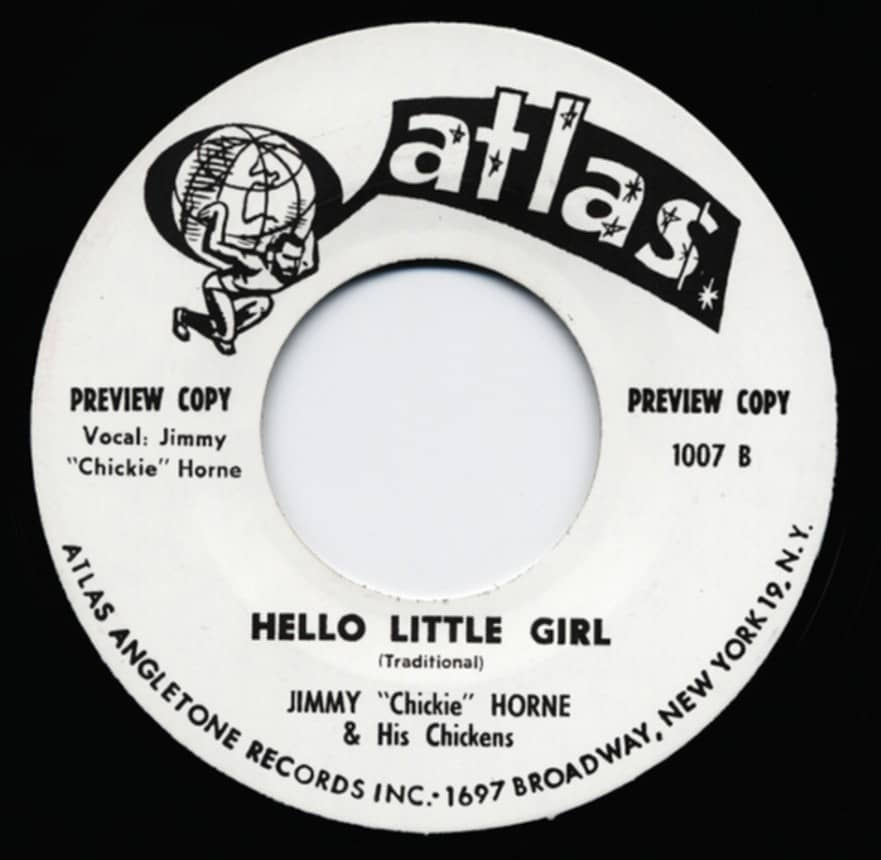 Jimmy Horne / Piney Brown - Hello Little Girl - Talking About You 7inch, 45rpm