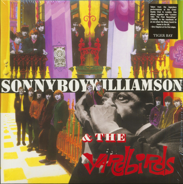The Yardbirds With Sonny Boy Williamson (LP, 180g Vinyl)