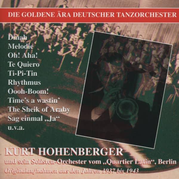 Kurt Hohenberger und sein Solisten-Orchester vom 'Quartier Latin', Berlin (CD)