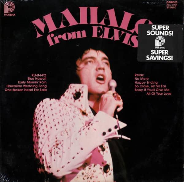 Mahalo From Elvis