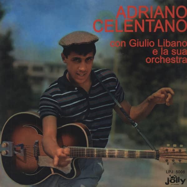 Adriano Celentano con Giulio Libano e la Orchestra(Vinyl LP)