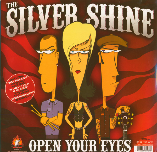 The Silver Shine - Open Your Eyes & The Rocketz - Before The Night (LP, Ltd.)