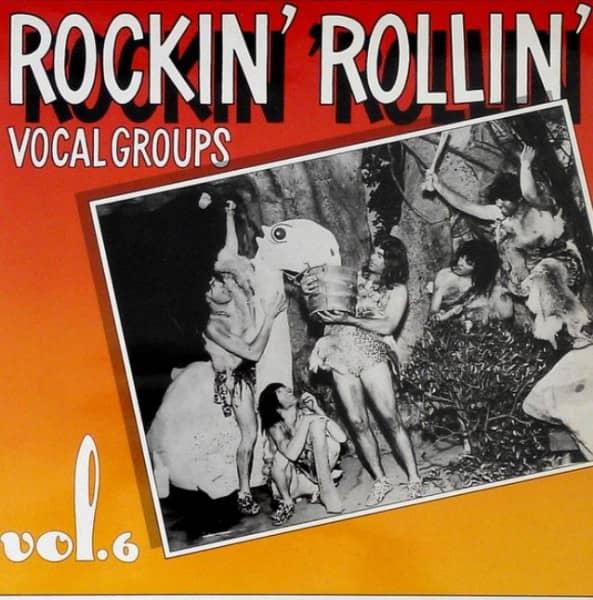 Rockin Rollin' Vocal Groups Vol.6 (LP)