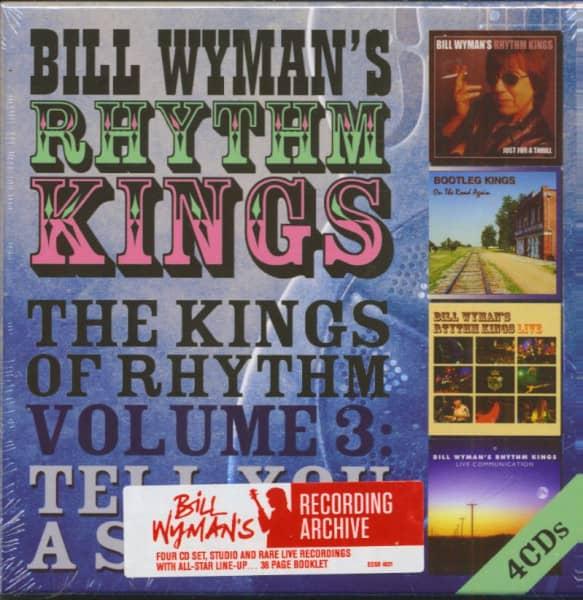 The Kings Of Rhythm Vol.3 - Tell You A Secret (4-CD)