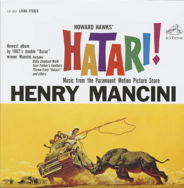 Hatari! - From The Motion Picture Score (2-LP, 180g Vinyl, 45rpm, Limited Deluxe Set)