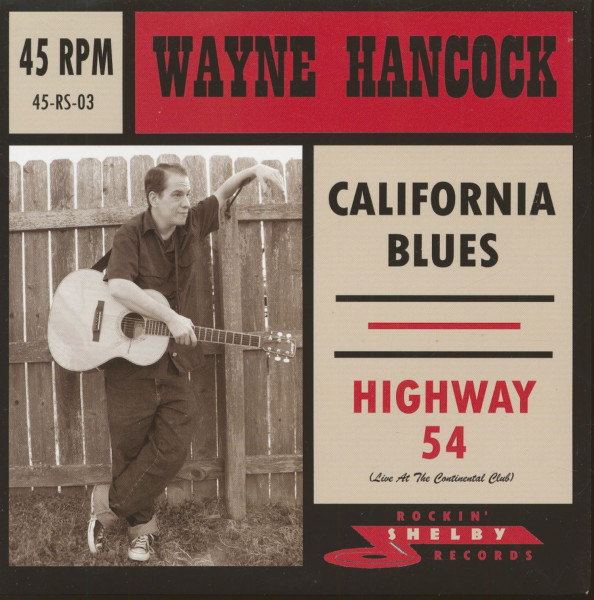 California Blues - Highway 54 (7inch, 45rpm, PS)
