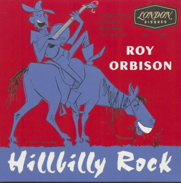Hillbilly Rock (7inch, 45rpm, EP, PS)