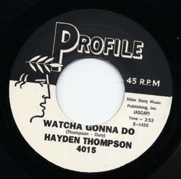 Watcha Gonna Do b-w Summer's Almost Over 7inch, 45rpm