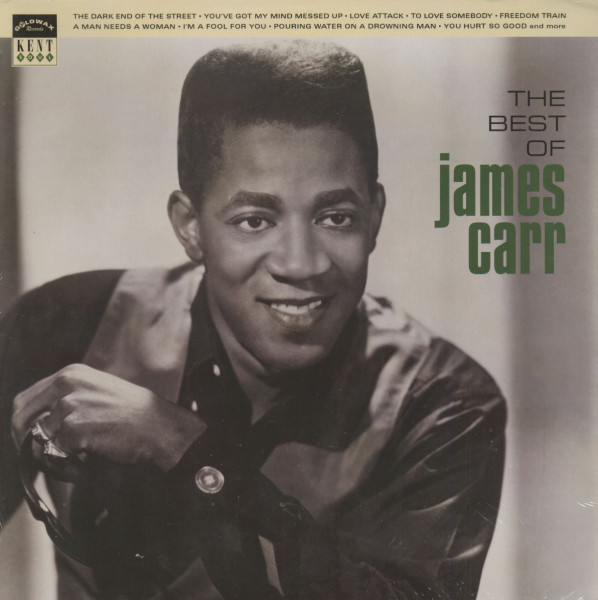 The Best Of James Carr (LP)