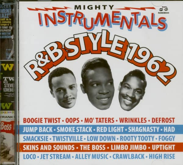 Mighty Instrumentals R&B Style 1962 (2-CD)