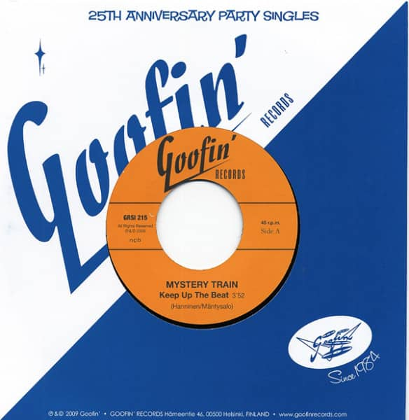 Keep Up The Beat - Rockin... 7inch, 45rpm, CS Limited